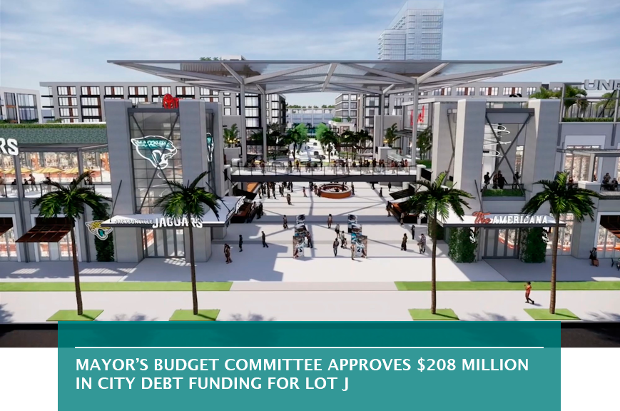 Mayor's budget committee approves $208 million in city debt funding for Lot J