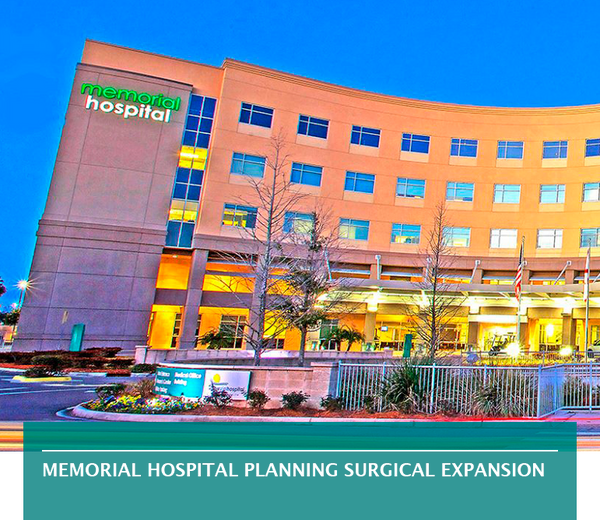 Memorial Hospital planning surgical expansion
