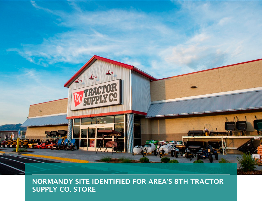 Normandy site identified for area's 8th Tractor Supply Co. store