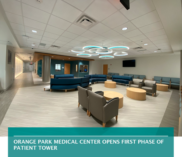 Orange Park Medical Center opens first phase of patient tower