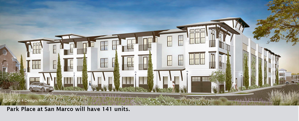 Park Place at San Marco will have 141 units.