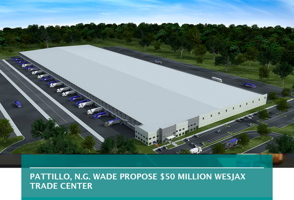 Pattillo, N.G. Wade propose $50 million WesJax Trade Center