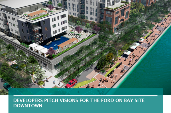 Developers pitch visions for The Ford on Bay site Downtown