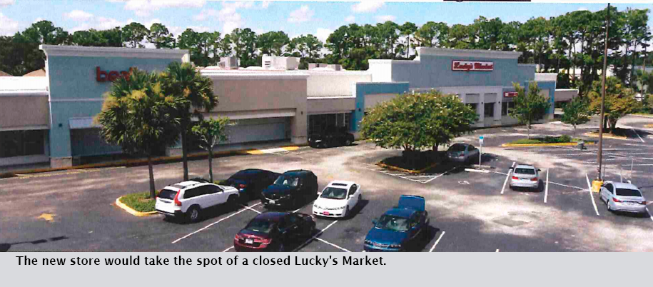 The new store would take the spot of a closed Lucky's Market.