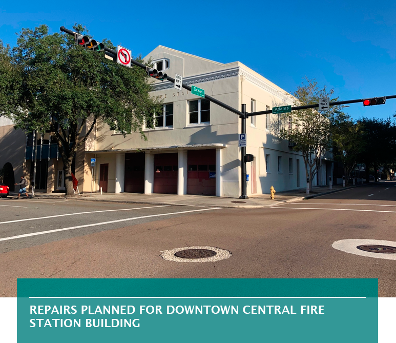 Repairs planned for Downtown Central Fire Station building