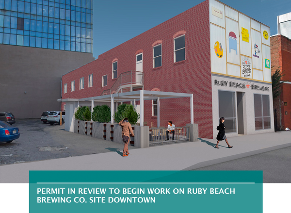 Permit in review to begin work on Ruby Beach Brewing Co. site Downtown