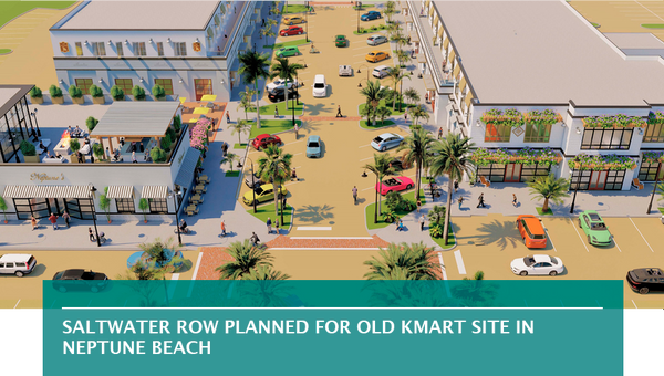 Saltwater Row planned for old Kmart site in Neptune Beach