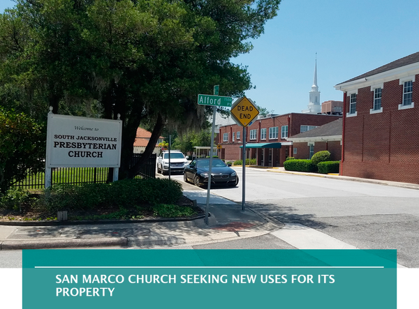 San Marco church seeking new uses for its property