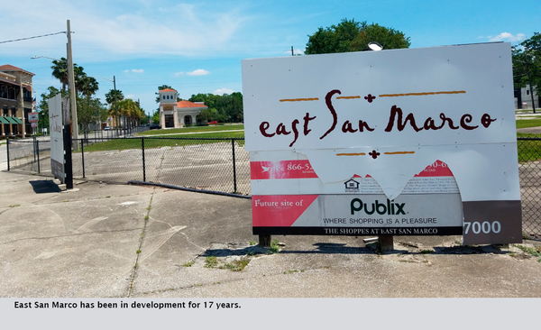 East San Marco has been in development for 17 years.