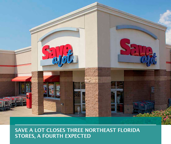 Save A Lot closes three Northeast Florida stores, a fourth expected