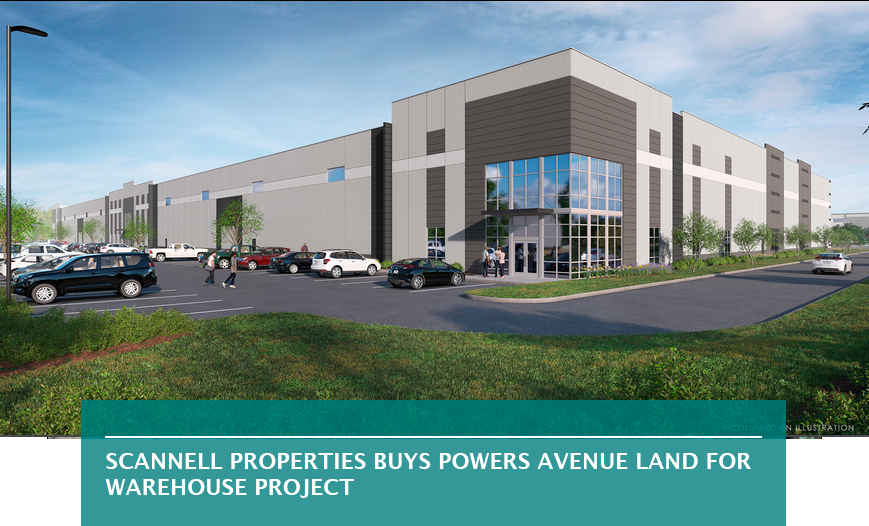 Scannell Properties buys Powers Avenue land for warehouse project