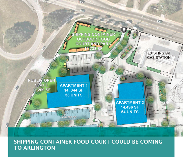 Shipping container food court could be coming to Arlington