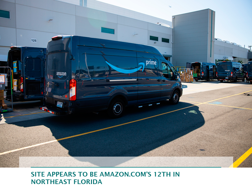 Site appears to be Amazon.com's 12th in Northeast Florida