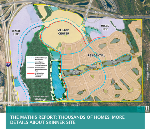 THE MATHIS REPORT: THOUSANDS OF HOMES: MORE DETAILS ABOUT SKINNER SITE