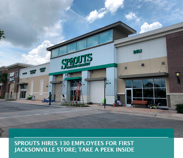 Sprouts hires 130 employees for first Jacksonville store; take a peek inside