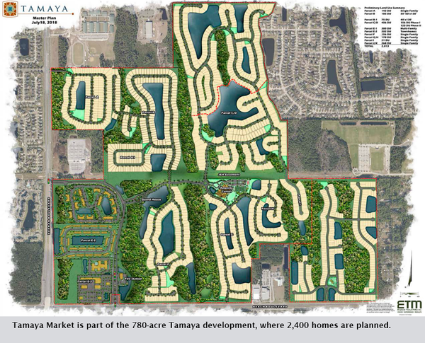 Tamaya Market is part of the 780-acre Tamaya development, where 2,400 homes are planned.