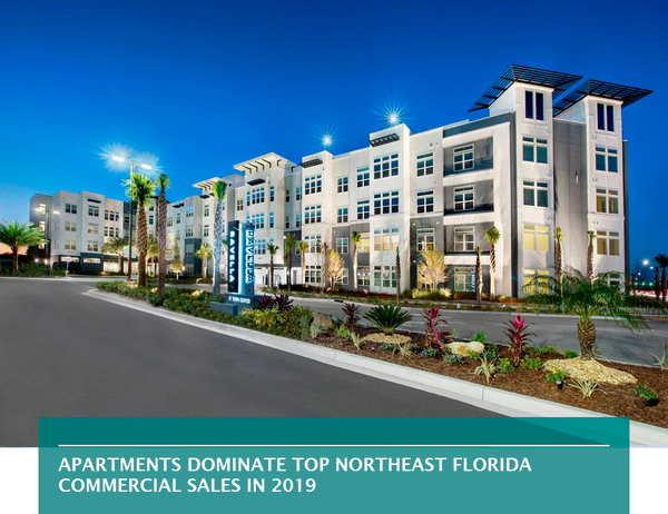 Apartments dominate top Northeast Florida commercial sales in 2019