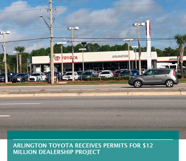 Arlington Toyota receives permits for $12 million dealership project