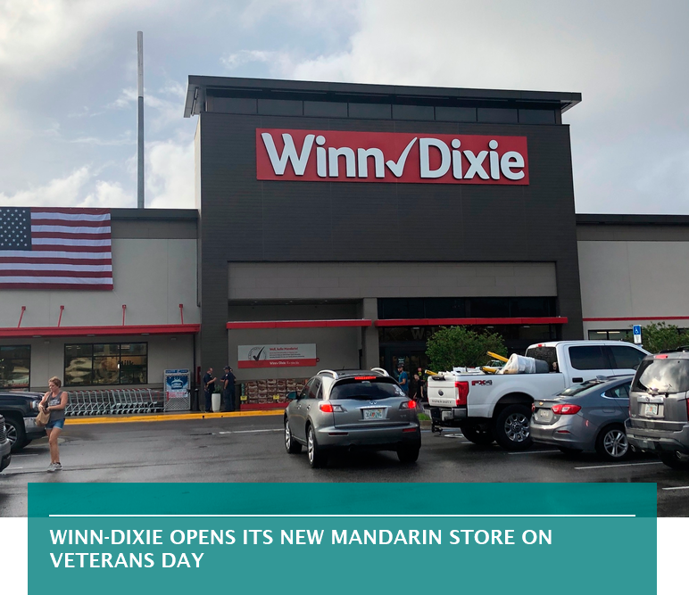 Winn-Dixie opens its new Mandarin store on Veterans Day