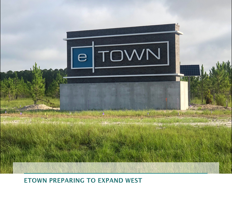 eTown preparing to expand west