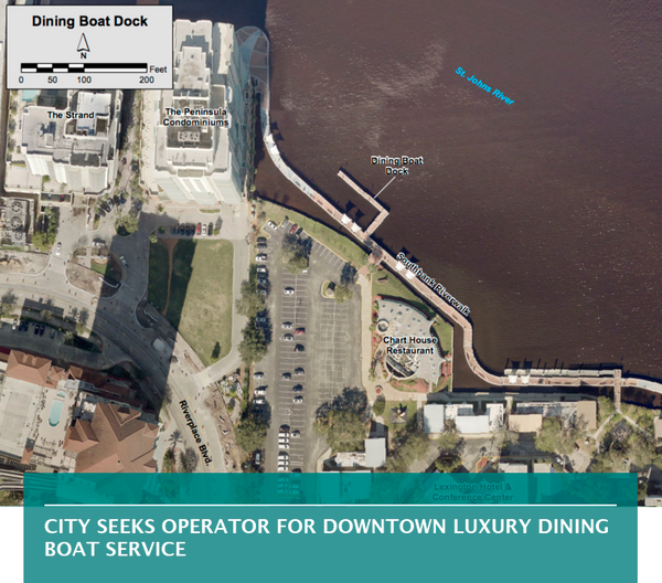 City seeks operator for Downtown luxury dining boat service