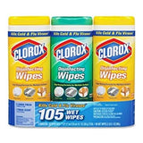 Copy of 15 Canisters Clorox Wipes Value Pack, 7 x 8, Fresh Scent/Citrus Blend
