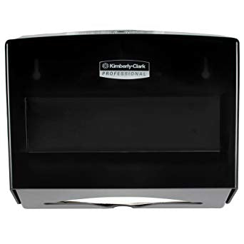 Kimberly-Clark Professional ScottFold Compact Towel Dispenser, Smoke