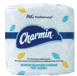 Charmin 2-Ply Standard Toilet Paper, White, 450 Sheets/Roll, 75 Rolls/Carton ***Backordered until April 25th***