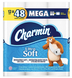Charmin® Ultra Soft™ Bathroom Tissue, 12 Mega Rolls ***Backordered until April 25th***
