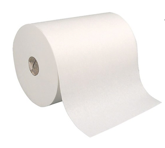 Coastwide Professional™ Recycled Hardwound Paper Towels, 1-Ply, 800 ft./Roll, 6 Rolls/Carton
