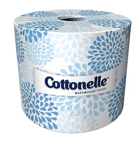 Cottonelle 2-Ply Standard Toilet Paper, White, 451 Sheets/Roll, 60 Rolls/Carton