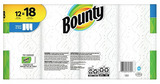 Bounty® Select-A-Size™ Paper Towels, 2-Ply, White, 83 Sheets/Roll, 12 Giant Rolls/Carton