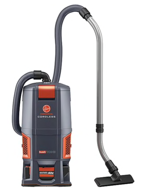 Hoover® HushTone Cordless Commercial Backpack Vacuum