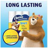 Charmin Essentials Soft™ Toilet Paper, 2-Ply, 200 Sheets/Roll, 36 Giant Rolls/Pack **Backorderd until Thursday April 9th**