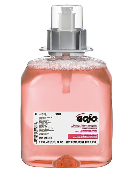 GOJO® FMX-12™ Foam Handwash, Cranberry, Refill, 1,250 mL, 3/CT