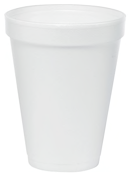 Dart® J Cups® Insulated Foam Cups 12 oz., White, 1000/Carton