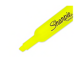 Sharpie® Accent® Highlighter, Chisel Tip, Fluorescent Yellow, 12/Pack (25025)
