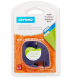 "DYMO 10697 1/2"" Adhesive Paper Tape, White, 2-Pack"