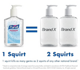 Purell Instant Hand Sanitizer, Clear, 8 oz. Pump Dispenser