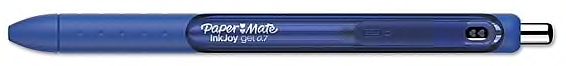 Paper Mate InkJoy Gel Pen, Blue Ink, 0.7mm, 12 Ct