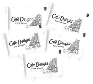Cafe Delight Pure Sugar Packets, 1,000/Box