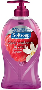 Softsoap® Hand Soap, Black Raspberry & Vanilla, 11.25 oz. Pump Bottle
