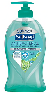Softsoap® Antibacterial Hand Soap, Fresh Citrus, 11.25 oz. Pump Bottle
