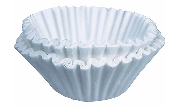 Bunn® 50/60 Paper Regular Coffee Filter For 12 Cup Commercial Brewers, 3000/Case