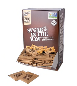 Sugar In The Raw® Packets, 200/Box (SUG50319)