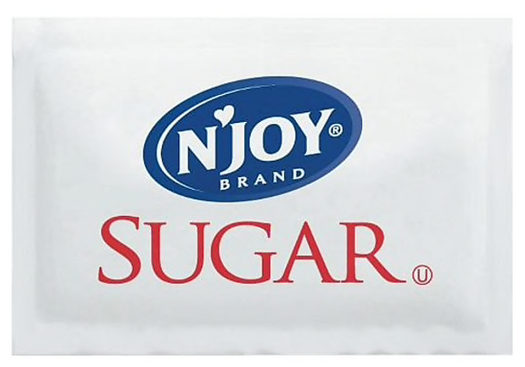 Sugarfoods® N'Joy® Pure Cane Sugar, Packets, 2000/Box
