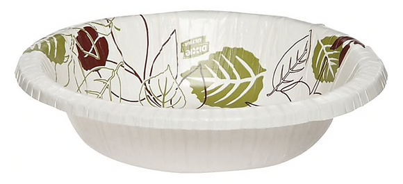 Dixie® Ultra® Pathways® Heavy-Weight Paper Bowl by GP PRO, 20 oz., 500/Carton (SX20PATH)