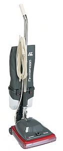Eureka Sanitaire® Commercial Lightweight Bagless Upright Vacuum, Gray/Red