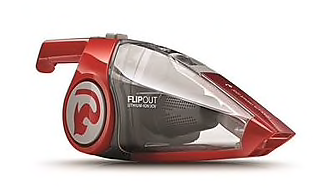 Dirt Devil Flipout 20V Lithium Powered Cordless Hand Vacuum, Red (BD10320B)