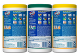 Clorox Disinfecting Wipes, Value Pack, Crisp Lemon and Fresh Scent, 3 Pack, 35 Wipes Each (30112)